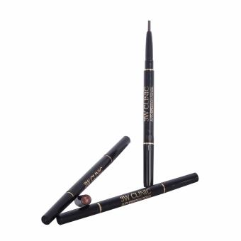 3W CLINIC AUTO EYEBROW PENCIL {BROWN} 2pcs. Price Philippines