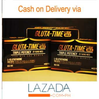 GLUTA TIME X-TREME GOLD TRIPLE POTENCY 60 Capsules Price Philippines