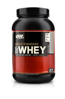 Harga Optimum Nutrition Gold Standard 100% Whey 2lbs (Cookies & Cream)