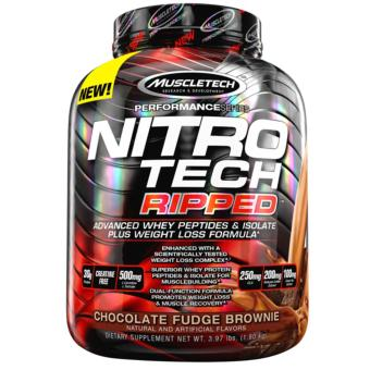 Muscletech Nitrotech Ripped Whey Performance Series 4 lbs (Chocolate Fudge Brownie) Price Philippines