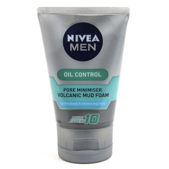 Harga Nivea Men Oil Control Cooling Facial Cleanser 100g