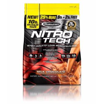 Harga Muscletech NITROTECH 10lbs (Milk Chocolate)