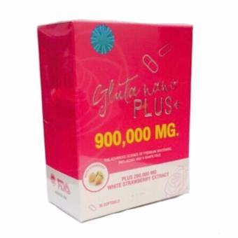 Gluta Nano Plus+ 900000mg Glutathione Softgel Bottle of 30 Price Philippines