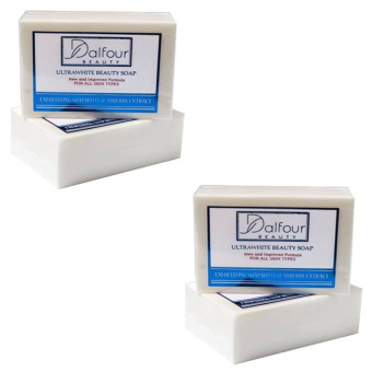 Dalfour Beauty Ultrawhite Whitening Beauty Soap, Pack of 2 Price Philippines