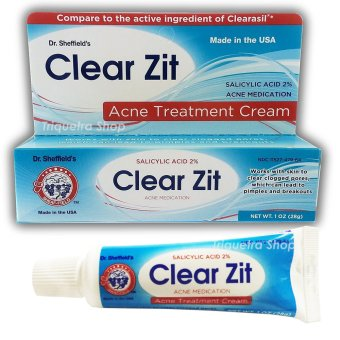 Harga Dr. Sheffield's Clear Zit Acne Treatment Cream Acne Medication