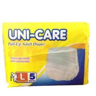 4 Packs of Uni-care Adult Pullups Large 5s Price Philippines