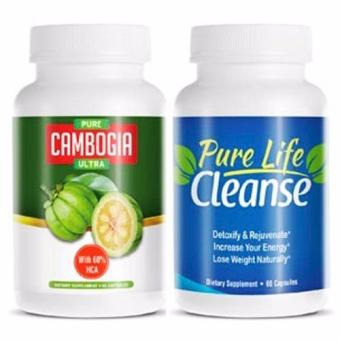 Harga Pure Cambogia Ultra And Pure Life Cleanse ( Best Seller)