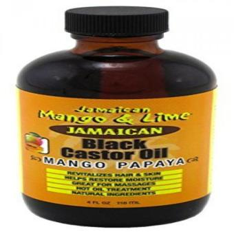 Jamaican Mango & Lime Black Castor Oil (Mango Papaya) 4oz Price Philippines