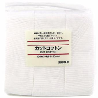 Harga 250 Pads White Cut Cotton