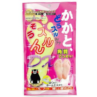 Harga Made in japan Foot Exfoliating Pack 2 Pieces