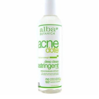 Harga Alba Botanica Natural Acne Dote Deep Clean Astringent Oil-Free 177 ml