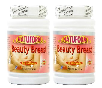 Natuform Beauty Breast Enhancer Bottle of 60 Set of 2 Price Philippines