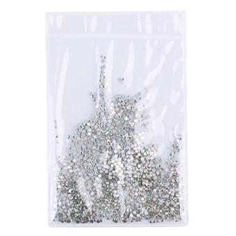 Crystal AB /clear Flatback Rhinestone Nail Art Decoration Rainbow AB SS-6 Price Philippines