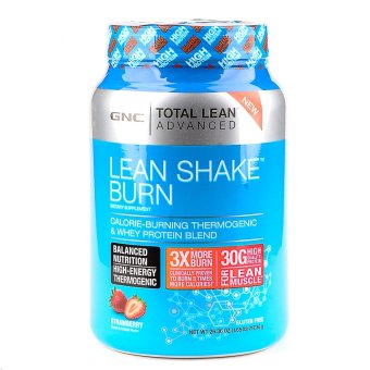 GNC Total Lean Advanced Lean Shake Burn - Strawberry 26.07 oz Price Philippines