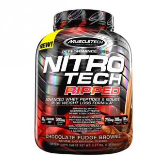 MuscleTech NitroTech Ripped Powder, Advanced Whey Protein Peptides & Isolate Plus Weight Loss Formula, 3.97 lbs Price Philippines
