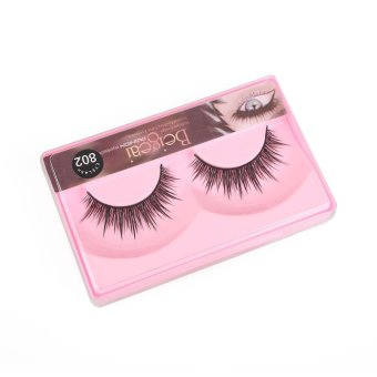 10 Pairs Fake Eye Lashes 3D Natural Handmade Long Thick False Eyelashes - intl Price Philippines