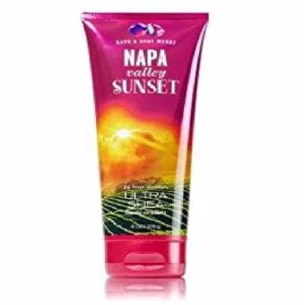 AUTHENTIC BATH AND BODY WORKS NAPA VALLEY SUNSET ULTRA SHEA BODY CREAM Price Philippines