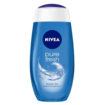 Harga Nivea Pure Fresh Shower Gel 250ml