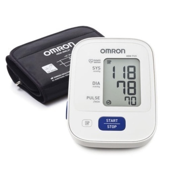 Harga OMRON Upper Arm Automatic Blood Pressure Monitor (HEM-7121) with Adaptor