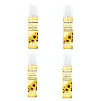 Harga Human Heart Nature Sunflower Beauty Oil Set of 4 (100ml)