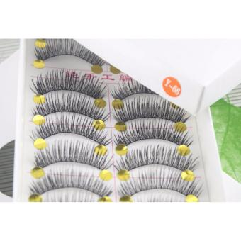 BM Taiwan Natural Black Long False Eyelashes #Y66 (10 Pairs) Price Philippines