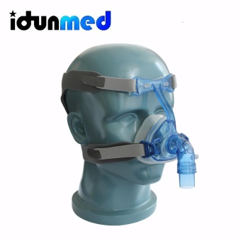 Harga BMC CPAP Mask NM3 Nasal Mask With Adjustable Straps Headgear Breathing Maskesi For Sleep Apnea Nasal Anti Snoring Treatment - intl