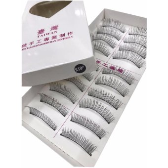 BM Taiwan Natural Black Long False Eyelashes #219 (10 Pairs) Price Philippines