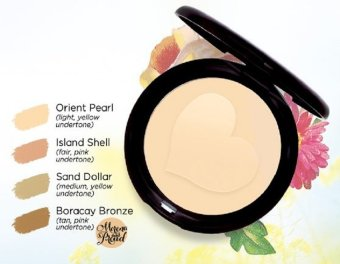 Human Heart Nature Mineral Pressed Powder (Orient Pearl) 9g Price Philippines