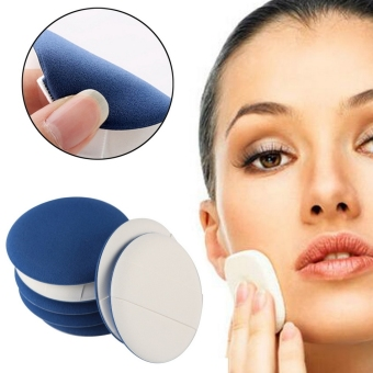 Harga Cyber New 7PCS Air Cushion BB Powder Puff Makeup Foundation Sponge Facial Cosmetic ( Blue ) - intl