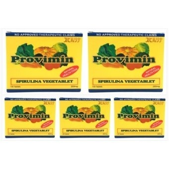 Provimin Spirulina VegeTablet 200mg Box of 150's Set of 5 Price Philippines