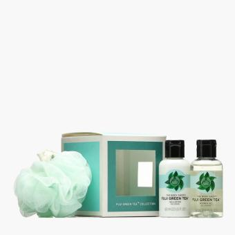 Harga The Body Shop Fuji Green Tea Treats