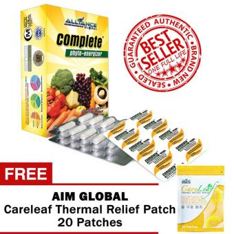Harga Aim Global Complete Phyto Energizer with Free Aim Global Careleaf Thermal Relief 20 Patches