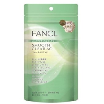 Harga FANCL Smooth Clear AC, Acne Care , Beauty Supplement to fight against adult acne, 30 days