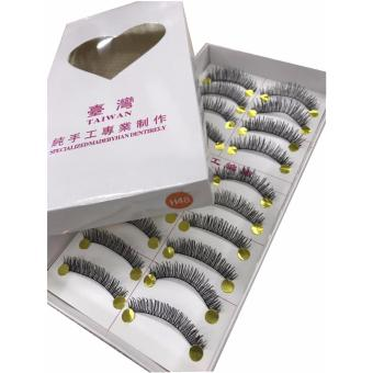 BM Taiwan Natural Black Long False Eyelashes #H48 (10 Pairs) Price Philippines