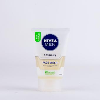 Harga Nivea Men Facial Wash Sensitive 100G