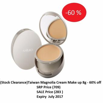 (Stock Clearance)Taiwan Magnolia Cream make up 8g -60% off Price Philippines