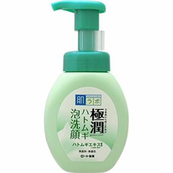 Harga Hadalabo Goku-jyun Hatomugi Foaming Face Wash 160ml