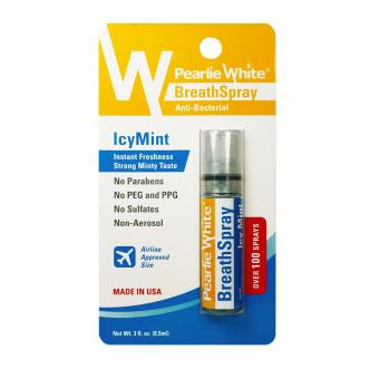 Pearlie White Breath Spray Icy Mint 100 Sprays Price Philippines