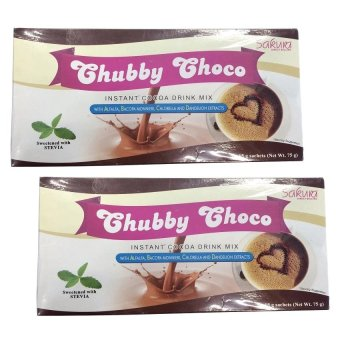 Sakura Chubby Choco Instant Cocoa Drink Mix for Weight Gain set of 2 Price Philippines