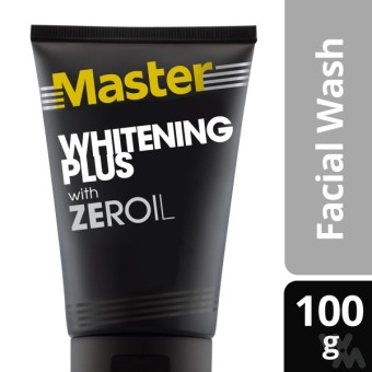 Harga Master Whitening Plus Facial Wash 100g