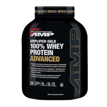 GNC AMP Gold 100% Whey Advanced - Vanilla Price Philippines