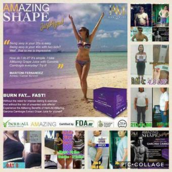 Amazing Slimming Grape Juice w/ Garcinia Cambogia 15g x 10 sachet Price Philippines