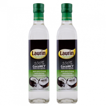 Laurin 100% Coco MCT 500ml Set of 2 Price Philippines