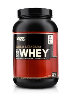 Harga Optimum Nutrition Gold Standard 100% Whey 2lbs (Delicious Strawberry)