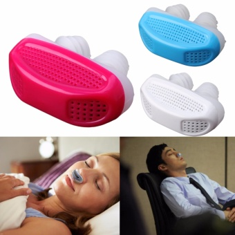 Harga Portable Anti Snoring Health Night Nose Breathe Easy Sleep Aid Nasal Dilators - intl