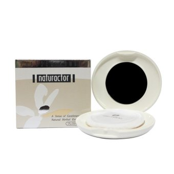 Harga Naturactor Pressed Powder with Puff 15g No. 470