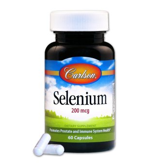 Carlson Selenium 200mcg Bottle of 60 Capsules Set of 2 Price Philippines