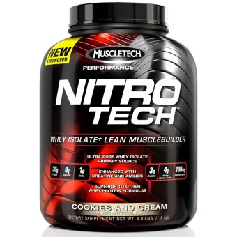 Muscletech Nitrotech 4 lbs. Cookies & Cream Price Philippines