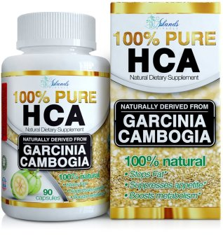 Island's Miracle 100% Pure HCA Garcinia Cambogia Bottle of 90 Capsules Price Philippines