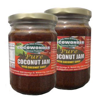 Pure Coconut Jam 250g ( With Pure Coconut Nectar ) Price Philippines